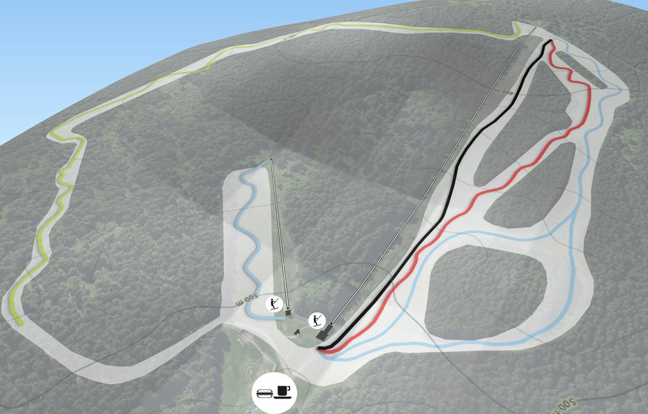 Abfahrten Alpinum